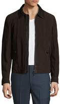 Tom Ford Leather Spread Collar Jacket