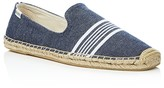 Soludos Men's Woven Canvas Smoking Slipper Espadrilles