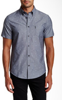 Ben Sherman Short Sleeve Regular Fit Chambray Shirt