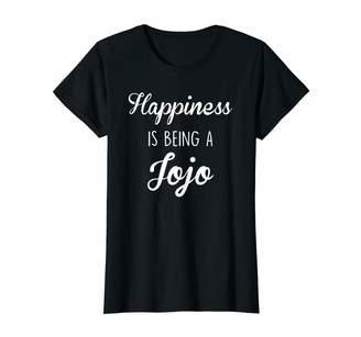 Jo-Jo Jojo Shirts Womens Jojo Shirt Gift: Happiness T-Shirt