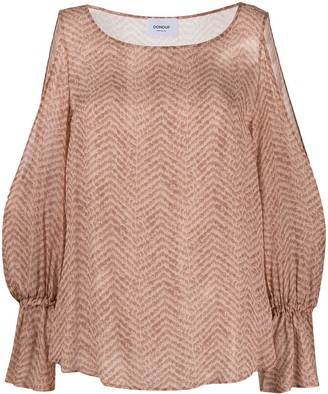 Dondup Cold-Shoulder Blouse