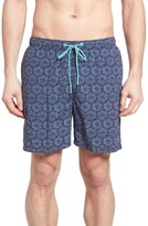 Tommy Bahama Men's Naples Arta Tile Swim Trunks