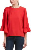Kensie Flare Sleeve Top