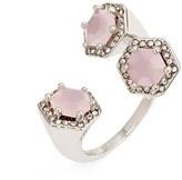 Rebecca Minkoff 3-Stone Open Ring