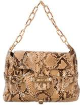 Jimmy Choo Python Tulita Bag