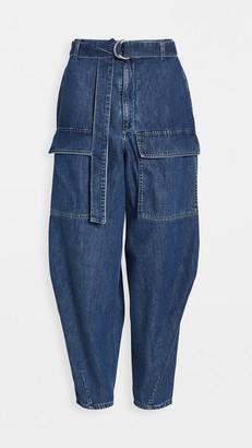 Stella McCartney Org Mid Summer Logo Trousers