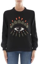 Kenzo Women's Black Acetate Sweatshirt.