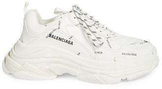 Balenciaga Triple S Logo Sneakers