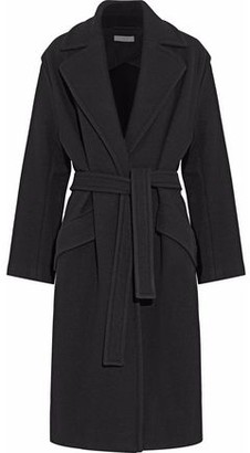 IRO Belted Wool-blend Coat