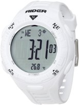 """Rockwell Time Unisex RIR101 """"Rider"""" Sport Watch with White Band"""