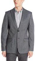 Calvin Klein Men's Cash Touch Twill Peak Lapel Jacket