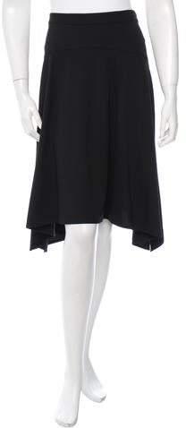 Derek Lam Asymmetrical Knee-Length Skirt w/ Tags