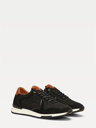 Tommy Hilfiger Suede And Leather Track Sneaker
