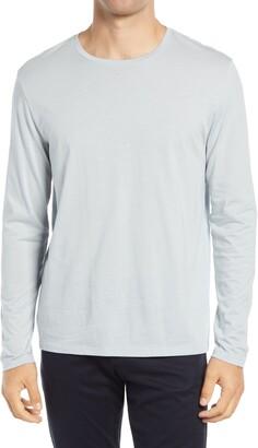 Vince Slim Fit Long Sleeve Crewneck T-Shirt