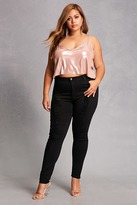 Forever 21 FOREVER 21+ Plus Size High-Rise Jeans