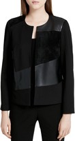 Calvin Klein Mixed Media Jacket