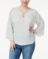 Melissa McCarthy Trendy Plus Size Off-The-Shoulder Top