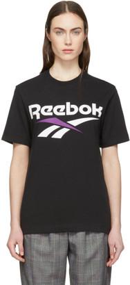 Vector Reebok Classics Black T-Shirt
