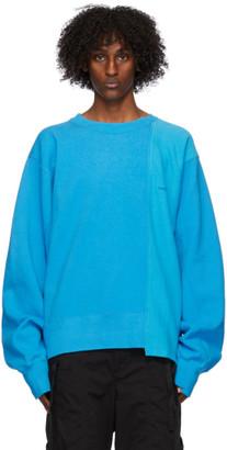 Ambush Blue Mix Panel Sweatshirt