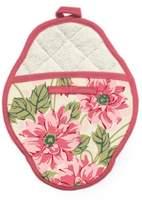 Jessie Steele Pot Mitt, Pink Polka Floral