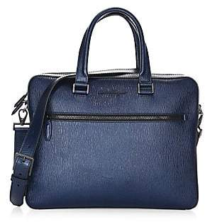 Salvatore Ferragamo Men's Revival Single Gusset Briefcase