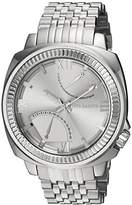 Vince Camuto Men's Quartz Stainless Steel Dress Watch, Color:Silver-Toned (Model: VC/1002SVSV)