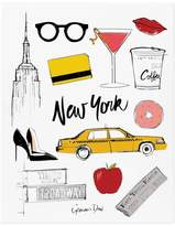 Rifle Paper Co. Rifle Paper New York by Garance Dorà Poster - 28x35 cm