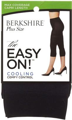 Berkshire Women's Easy On Max Coverage Capri Length Plus Size Tights