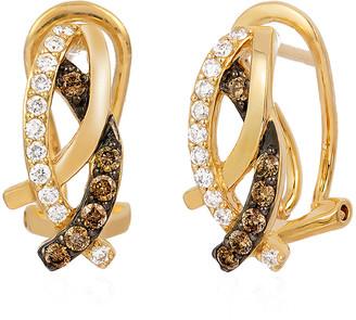 LeVian Le Vian 14K 0.42 Ct. Tw. Diamond Earrings