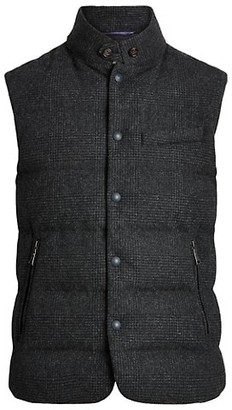 Ralph Lauren Purple Label Whitwell Merino Wool Down Vest