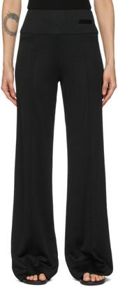 Esse Studios Black Knit Viscose Trousers