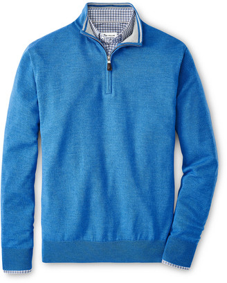 Peter Millar Men's Crown Soft Merino/Silk Knit Sweater