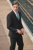 Next Black Slim Fit Travel Suit: Trousers