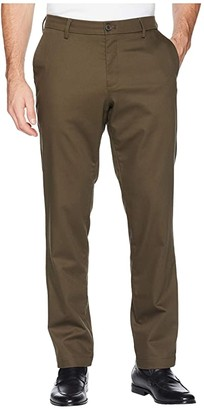 Dockers Athletic Fit Signature Khaki Lux Cotton Stretch Pants - Creaseless (Fern) Men's Casual Pants
