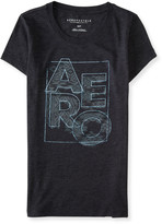 Aeropostale Square Aero Logo Graphic T