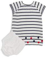 Hatley Baby's Two-Piece Striped Dress & Bloomer Set