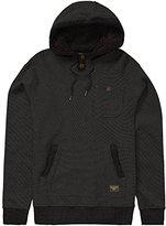 Billabong Men's Rasta Cable Fleece Pullover Hoody with Sherpa Lined Hood