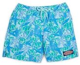 Vineyard Vines Toddler's, Little Boy's & Boy's Turtle & Starfish Drawstring Swim Shorts
