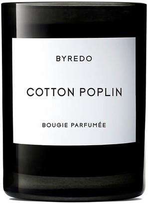 Byredo Cotton Poplin Bougie Parfumee Scented Candle 240g