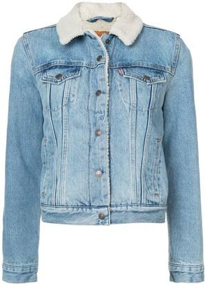 Levi's Sherling Denim Jacket
