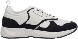 Emporio Armani Logo Baroque Sneakers