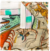 Faliero Sarti Point print scarf