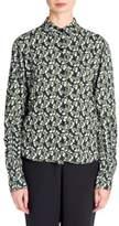 Marni Floral Button-Front Blouse