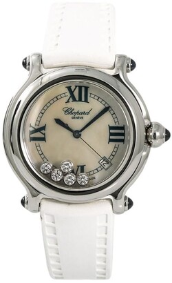 Chopard Pre-Owned pre-owned Happy Sport 38mm