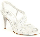 Adrianna Papell Andie Fabric Rhinestone Slingback Dress Sandals