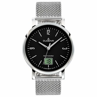 Dugena Womens Analogue-Digital Quartz Watch with Stainless Steel Strap 4460850