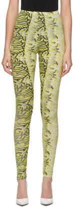 MAISIE WILEN Yellow Body Shop Leggings
