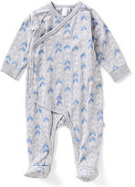 Petit Lem Baby Boys Newborn-6 Months Arrow Printed Asymmetrical Coverall