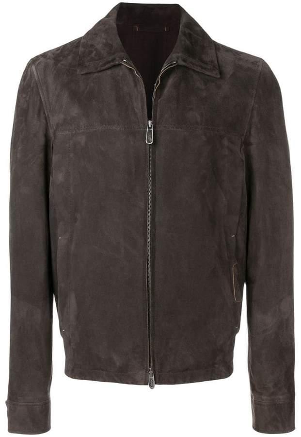 Ermenegildo Zegna XXX zipped shirt jacket
