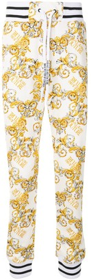 Versace Jeans Couture Logo Baroque-Print Track Pants